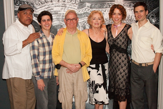 Keith Randolph Smith, David Rosenblatt, Buck Henry, Holland Taylor, Lisa Ebersole, and Haskell King
