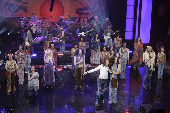 HAIR visits The Tonight Show With Conan O'Brien at The Cast of HAIR Visits The Tonight Show