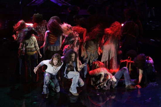 Photo Flash: The Cast of HAIR Visits The Tonight Show