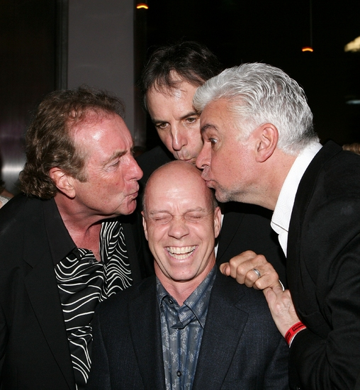 Eric Idle, Kevin Nealon, Olympic skater Scott Hamilton and John O'Hurley
