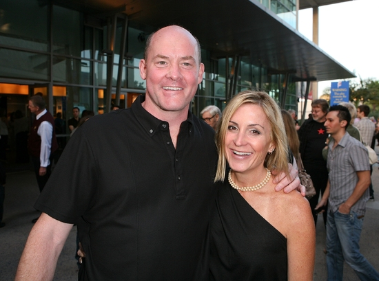 David Koechner and guest