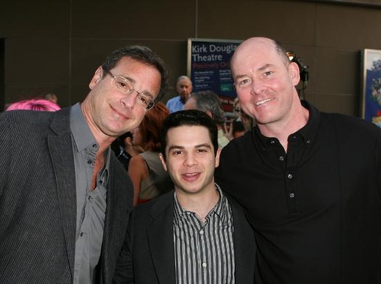 Bob Saget, Samm Levine and David Koechner