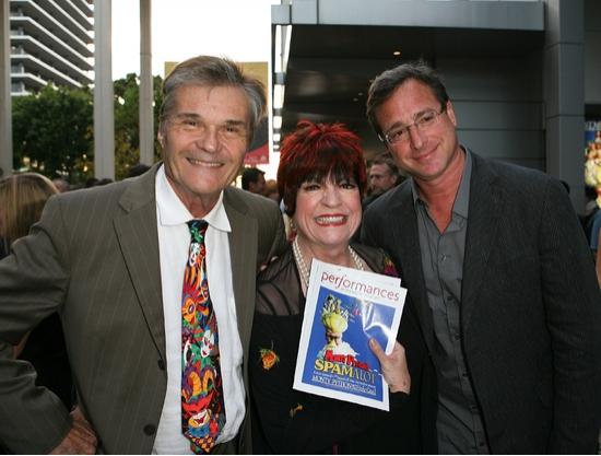 Fred Willard, Joanne Worley and Bob Saget