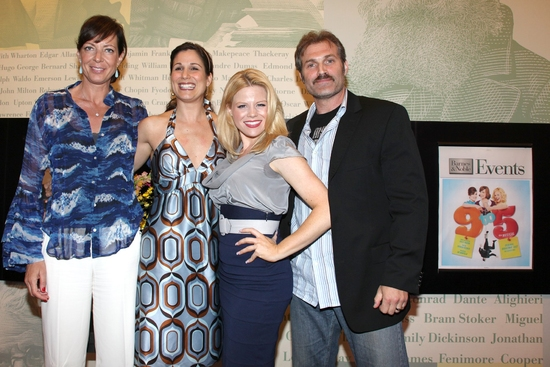 Photo Coverage: '9 To 5: THE MUSICAL' Celebrates The Original Broadway Cast Recording Release At Barnes and Noble