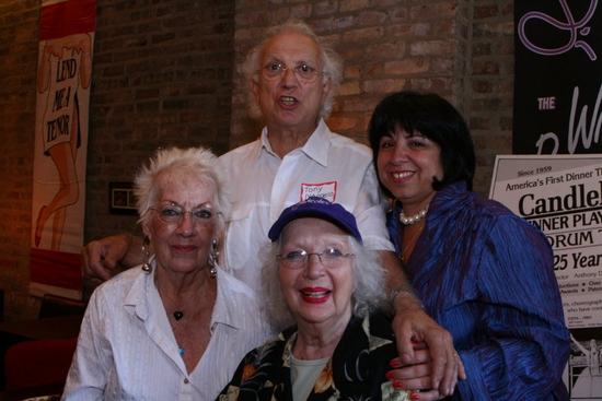 Nicole Bergere, Tony D'Angelo, Grace Collette, and Eileen LaCario