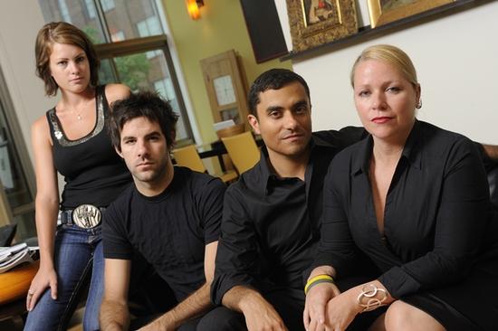 Brianna Carter (Ellen), Ryan Haase (Alex), David Gregory (Mitchell), Shannon Maddox (Diane)