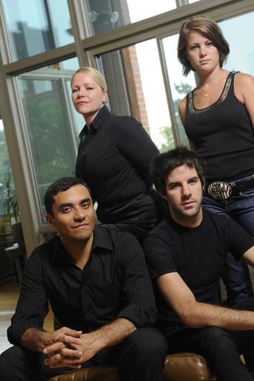 Shannon Maddox (Diane), David Gregory (Mitchell), Brianna Carter (Ellen), Ryan Haase (Alex)