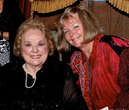Rose Marie with her daughter Noopy Rodriguez