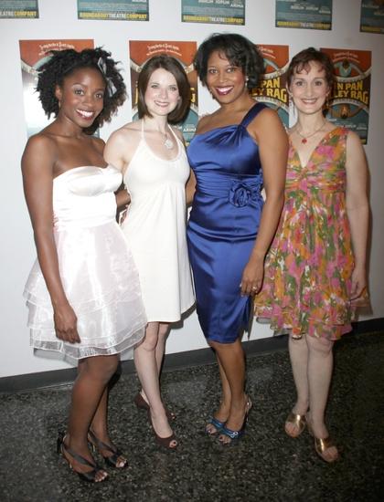 Idara Victor, Jenny Fellner, Rosena M. Hill and Tia Speros