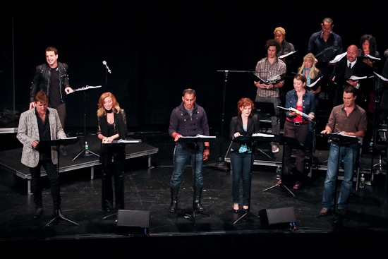 Euan Morton, David Edwards, Anastasia Barzee, Autumn Hurlbert, Matt Bogart and the ca Photo