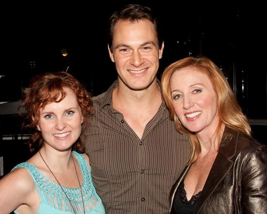 Autumn Hurlbert, Matt Bogart and Anastasia Barzee