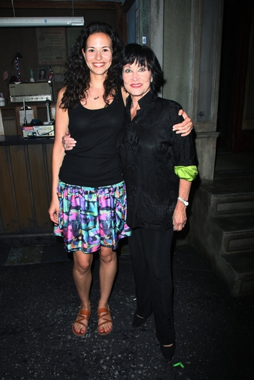 Photo Coverage: Chita Rivera Visits Broadway's IN THE HEIGHTS at the Richard Rodgers Theatre