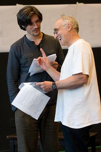 Gareth Saxe and Jeffrey DeMunn