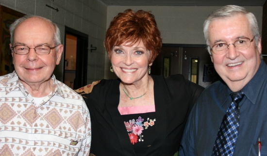 Bob Eagle, Lee Meriwether and Frank Roberts