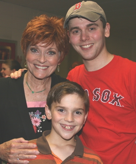 Lee Meriwether, Troy Costa and Curly Glynn