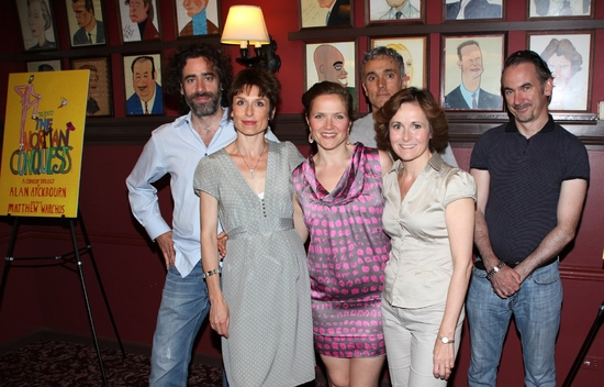 Photo Coverage: THE NORMAN CONQUESTS Bids Broadway Farewell With A 'Spot Of Tea' At Sardi's
