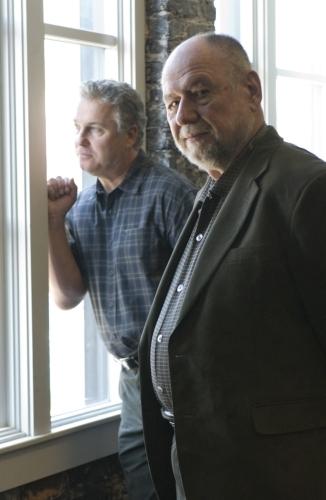 Dennis Zacek and William Petersen