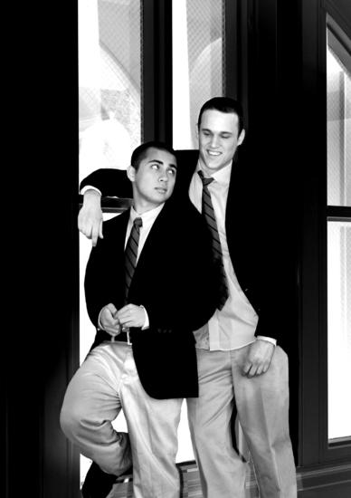 Sal Mattos and Brady Boyd