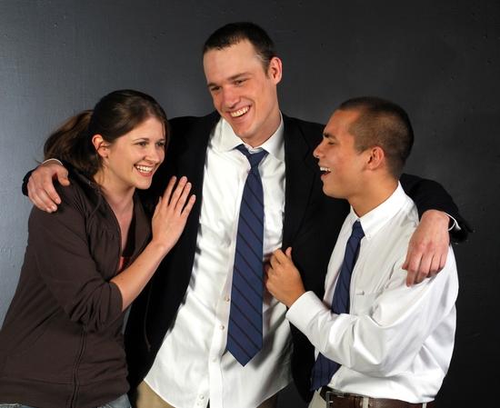 Vivian Kane, Brady Boyd, and Sal Mattos