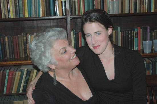 Tyne Daly and Zanthe Elbrick