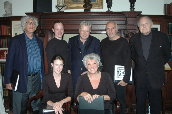 The Cast of Mrs. Warren's Profession- Howard Kissel, Sean Dugan, Brian Murray, Michael Cristofer, George S. Irving, Xanthe Elbrick and Tyne Daly