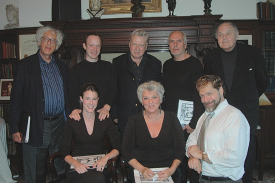 Howard Kissel, Sean Dugan, Brian Murray, Michael Cristofer, George S. Irving, Xanthe Elbrick, Tyne Daly and David Staller