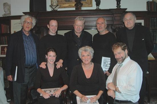 Howard Kissel, Sean Dugan, Brian Murray, Michael Cristofer, George S. Irving, Xanthe  Photo