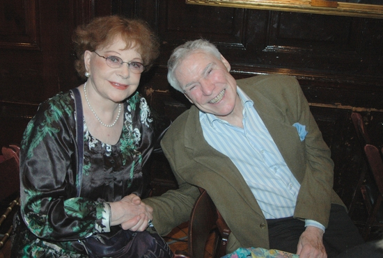 Isabel Brown and Jacques d'Amboise waiting for the show to begin