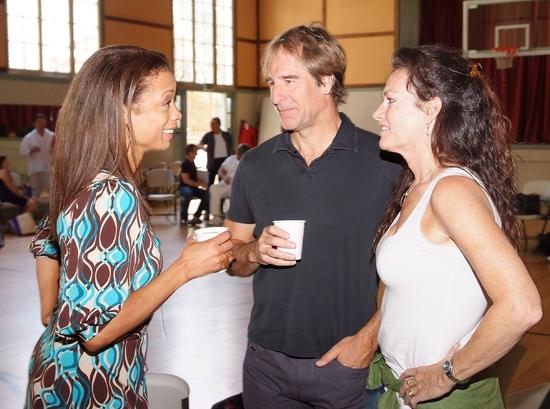 Valarie Pettiford, Scott Bakula, and Chelsea Fields