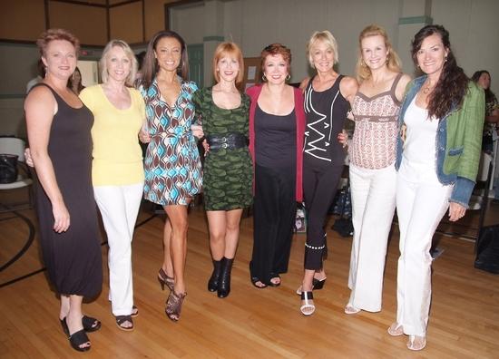 Jane Lanier, Kathryn Wright,Valarie Pettiford, Ellen Greene, Donna McKechnie, Sandahl Berman, Tracy Powell, and Chelsea Fields