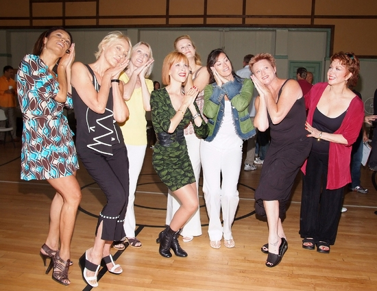 Valarie Pettiford, Sandahl Berman, Kathryn Wright, Ellen Greene, Tracy Powell, Chelsea Fields,Jane Lanier, and Donna McKechnie