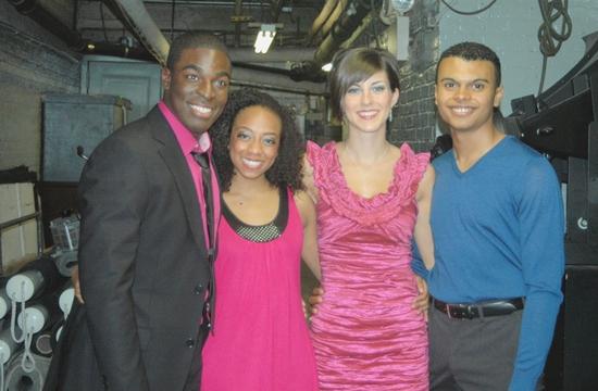 Kyle Taylor Parker, Rachael Ferrera, Bridget Ori and Gabriel Rodriguez