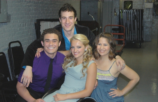 Andrew Chappelle, Sam Trussell, Ali Stroker and Shaina Taub