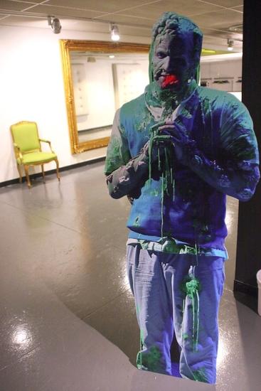 Photo Coverage: BWW Visits 'THE TOXIC AVENGER' - Nicholas Rodriguez Takes A Bow