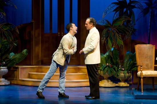 Chuck Ragsdale and Mark Jacoby at MSMT Presents DIRTY ROTTEN SCOUNDRELS Through 8/1