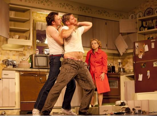 Nate Corddry, Paul Sparks, and Debra Jo Rupp
