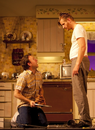 Nate Corddry and Paul Sparks
