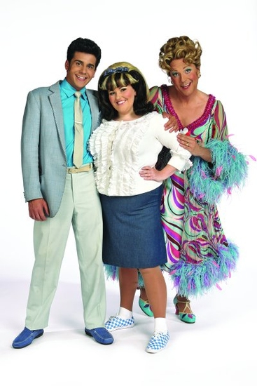 Liam Tamne, Chloe Hart and Brian Conley