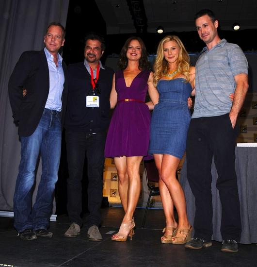 Kiefer Sutherland, Anil Kapoor, Mary Lynn Rajskub, Katee Sackhoff and Freddie Prinze Jr