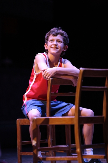 Tom Holland at BILLY ELLIOT At The Victoria Palace Theatre