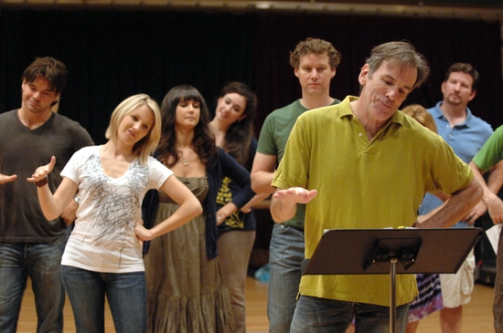 James Brennan and the cast of Into the Woods