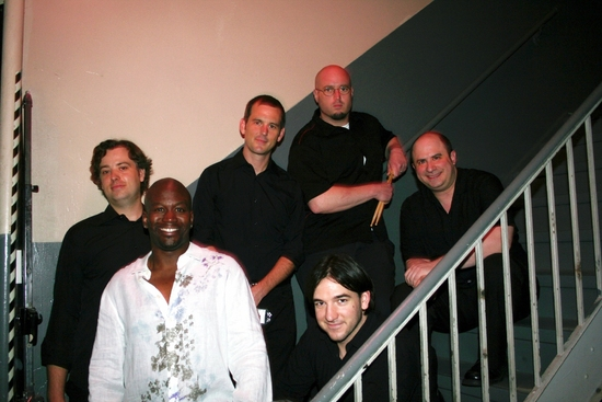 Tituss Burgess, James Sampliner, Michael Pearce, Kevin Dow, Craig Magnano and Justin Smith