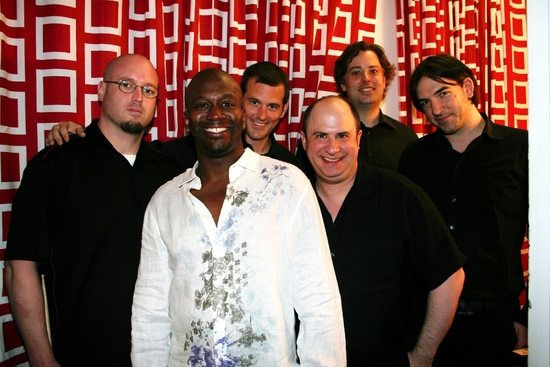 Tituss Burgess and the Tight-Ass Band James Sampliner, Michael Pearce, Kevin Dow, Craig Magnano and Justin Smith