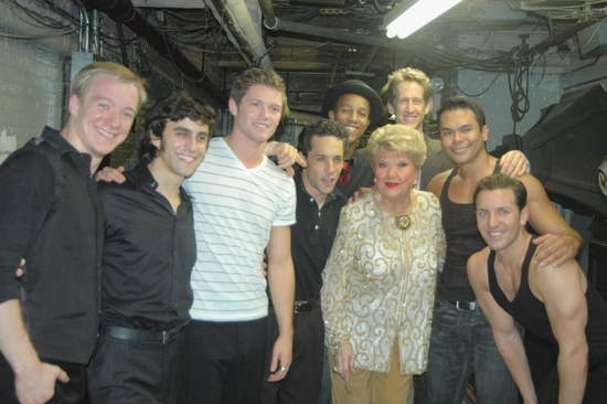Ryan Worsing, Michael Mindlin, Spencer Liff, JefferySchecter, Marilyn Maye, Kevin Bernard, Bobby Pestka, Joe Komara at 'ALL SINGIN', ALL DANCIN' III' At Town Hall