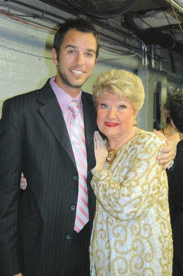 Douglas Ladnier and Marilyn Maye