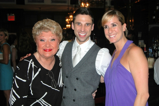 Marilyn Maye, Josh Prince, and Sloan Just at 'ALL SINGIN', ALL DANCIN' III' At Town Hall