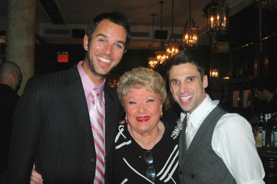Douglas Ladnier, Marilyn Maye and Josh Prince at 'ALL SINGIN', ALL DANCIN' III' At Town Hall