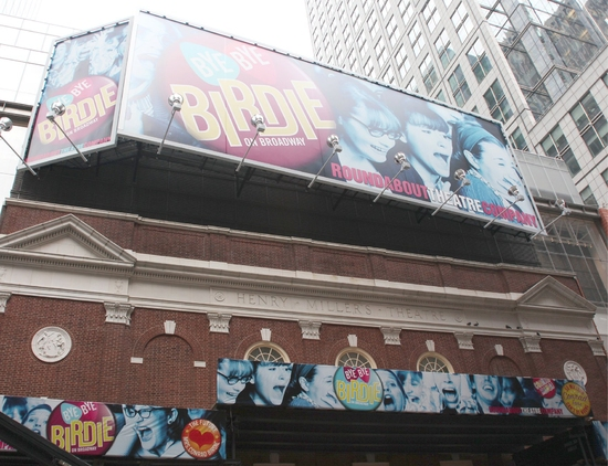 Photo Coverage: 'BYE BYE BIRDIE' Celebrates at the New Henry Miller's Theatre Ribbon Cutting Ceremony