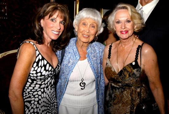 Kate Linder, Betty Garrett and Tippi Hedren