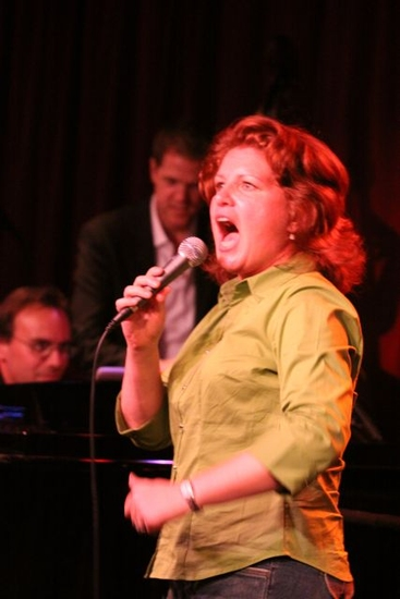Photo Flash: 'Miranda Sings,' Burgess, Blackhurst And More At Birdland's CAST PARTY